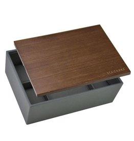 Stackers Classic Charcoal Boîte de Montre 8 pcs Bois
