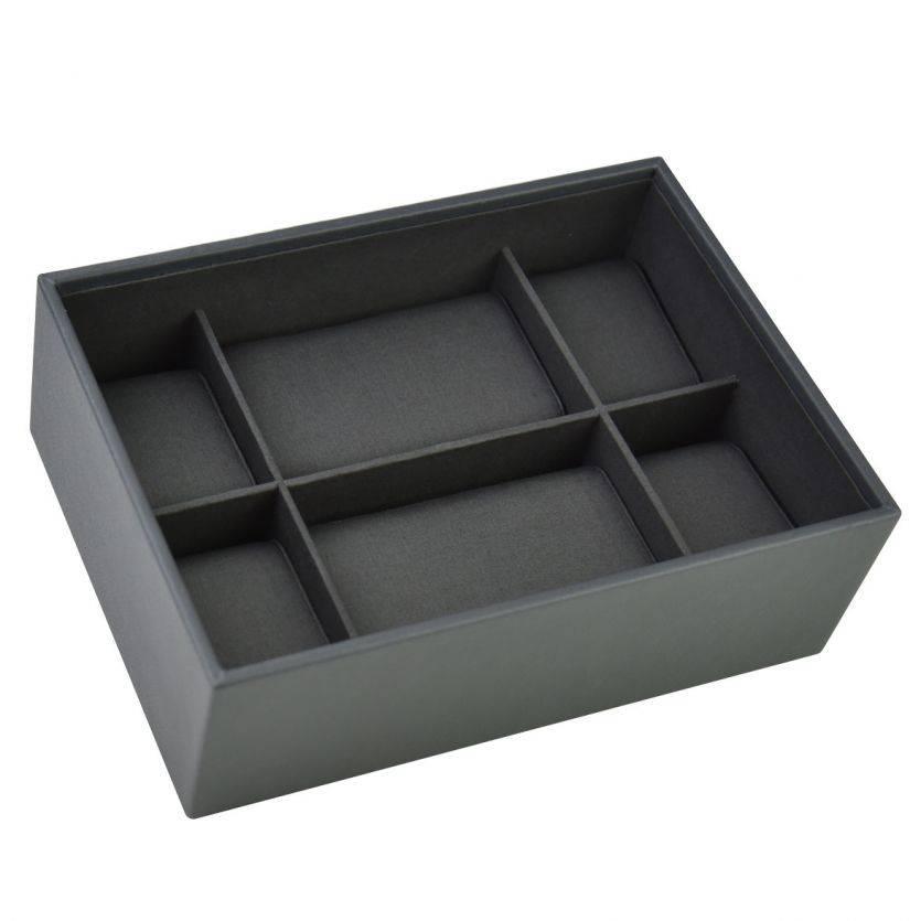 Classic Charcoal Boîte de Montre 8 pcs