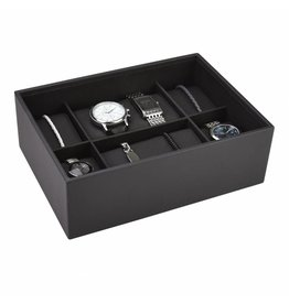 Stackers Classic Charcoal Boîte de Montre 8 pcs