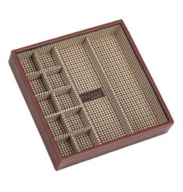 Stackers Tan Square Cufflink Layer