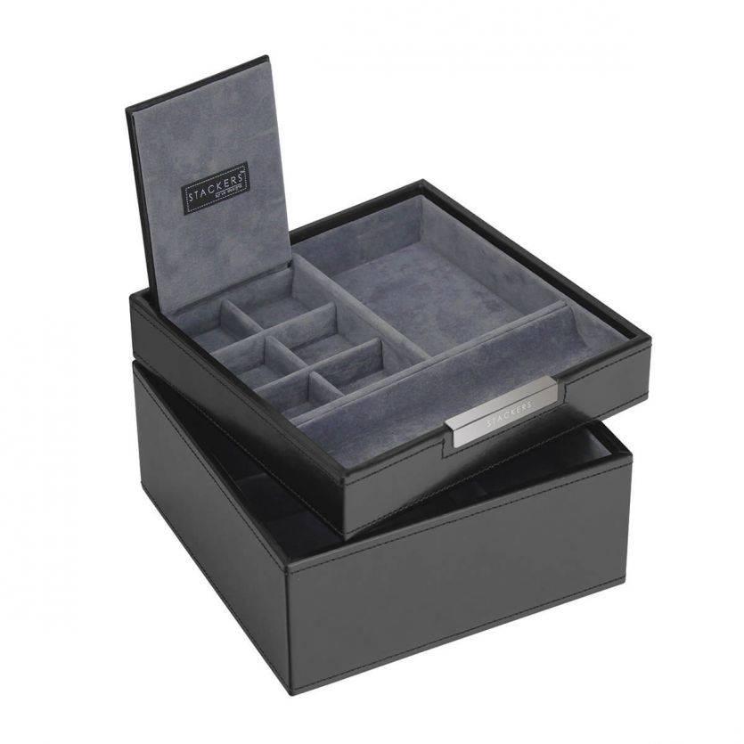 Black Square Valet & Watchbox
