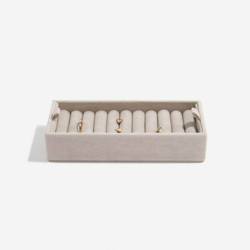 Boîte à Bijoux Mink Affichage des Anneaux