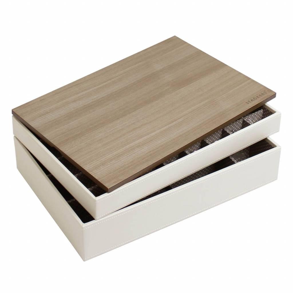 Sieradendoos Vanilla Supersize set - Wood