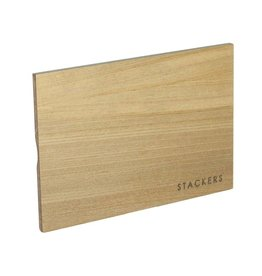 Stackers Mini houten deksel licht