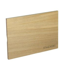 Stackers Classic houten deksel licht