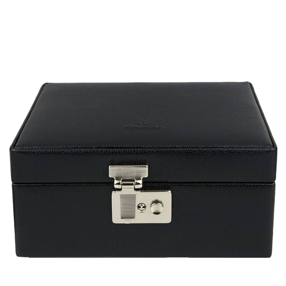 Boîte de Montre Pour 8 Montres Cuir Noir