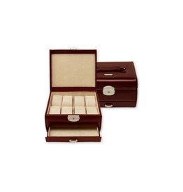 Windrose Uhrenbox für 8 Uhren Classico
