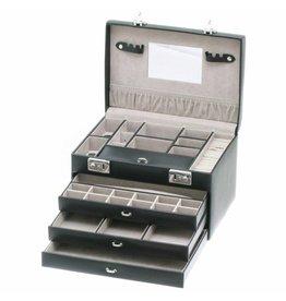 Davidts Boîte à bijoux de luxe noir
