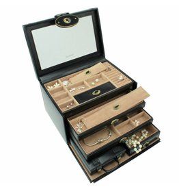 Dulwich Design Juwelendoos Heritage zwart XL