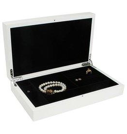 Huiscollectie Boîte à Bijoux Blanc Brillant
