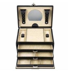 Windrose Boîte à bijoux Beluga Noir
