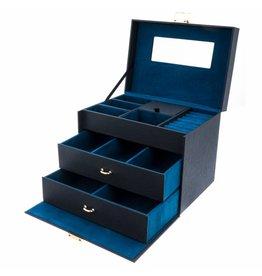 Davidts Sieradendoos Turquoise Flowers