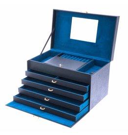 Davidts Boîte à Bijoux Turquoise Flowers Super