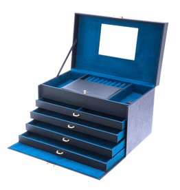 Davidts Boîte à bijoux Turquoise Flowers