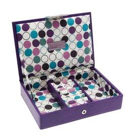 Stackers Boîte à Bijoux Polka Dot Mini Couvercle