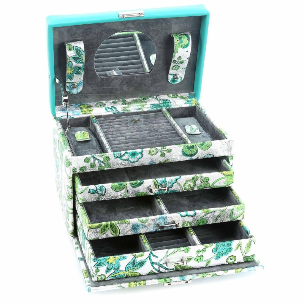 Sieradendoos Blossom Turquoise | Limited Editie!