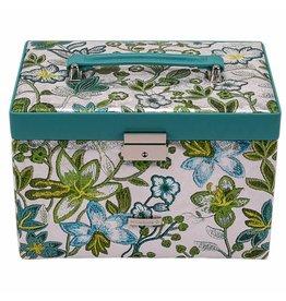 Windrose Schmuckkasten Blossom Turquoise