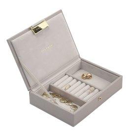 Stackers Boîte à Bijoux Taupe Mini Couvercle