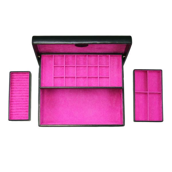Sieradendoos Moda Charm Box Zwart