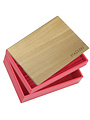 Sieradendoos Red Classic set Wood