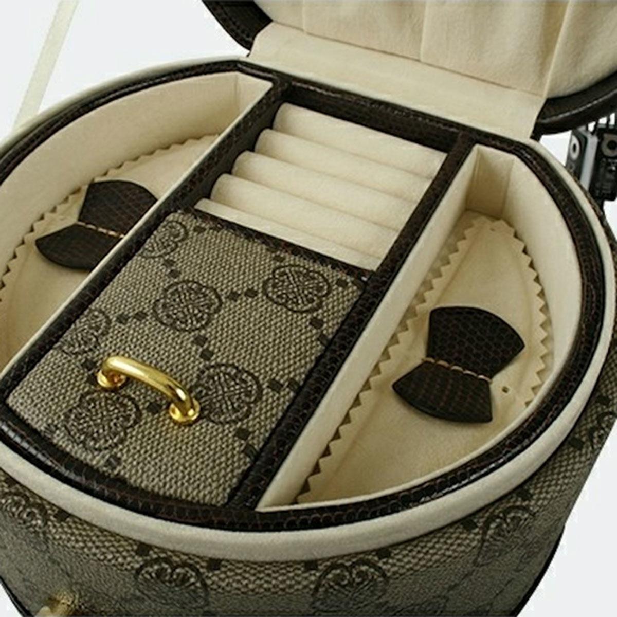 Jewelrybox round beige