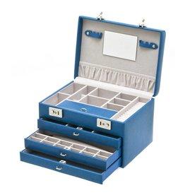 Davidts Boîte à Bijoux Luxury Bleu