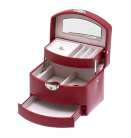 Davidts Boîte à Bijoux Bruges Rouge