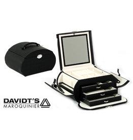 Davidts Boîte à Bijoux Sixties Noir