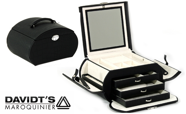 Boîte à Bijoux Sixties Noir