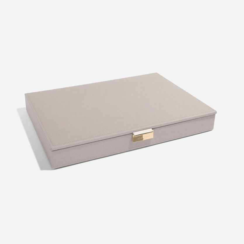 Sieradendoos Taupe Grey Supersize top