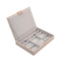Stackers Boîte à Bijoux Blush Classic Couvercle