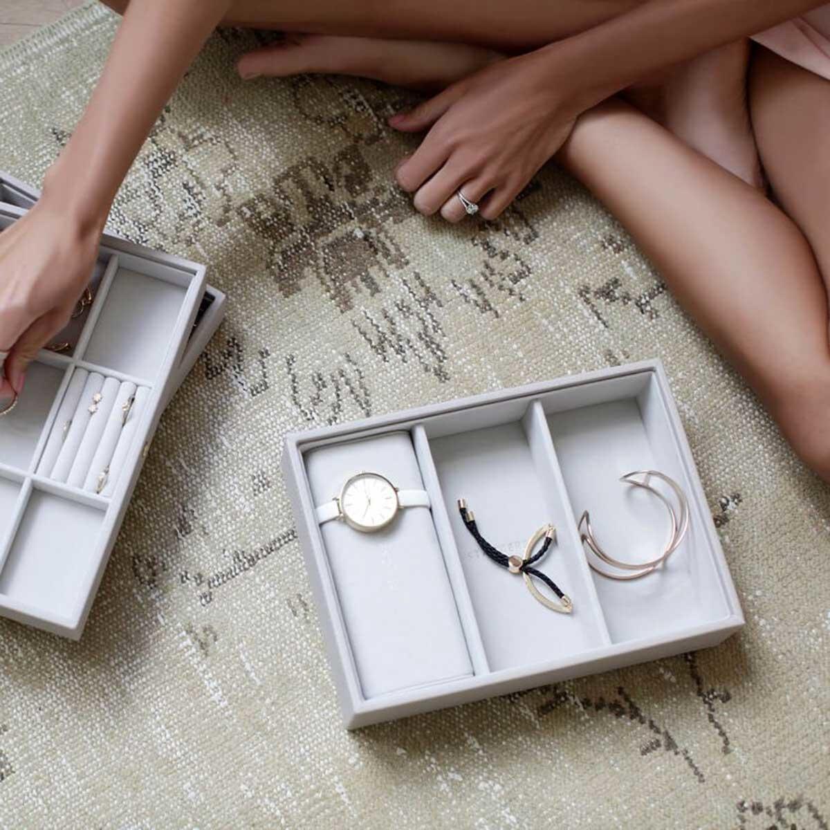 Boîte à Bijoux/Montre Grey Montre/Bracelet Titulaire
