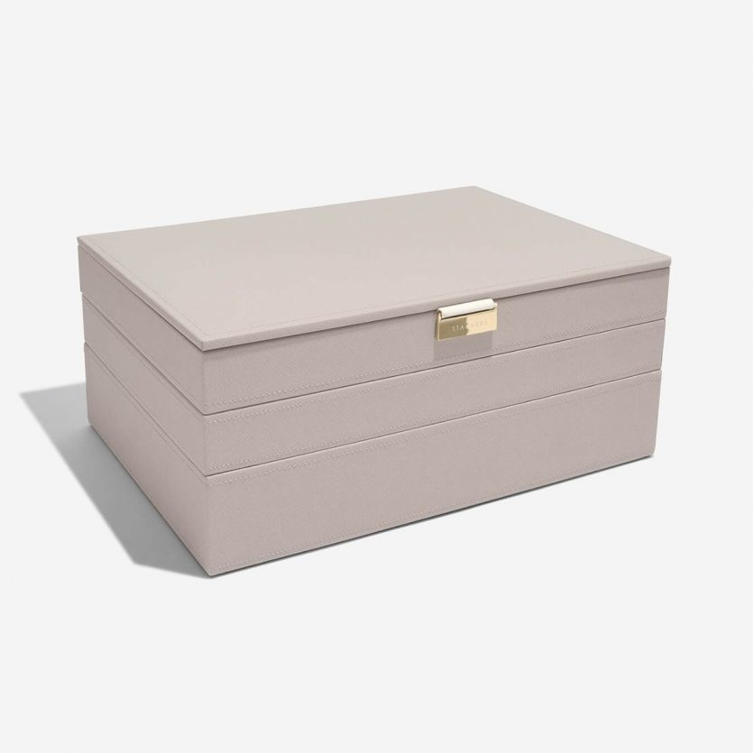 Schmuckkasten Taupe Supersize Set