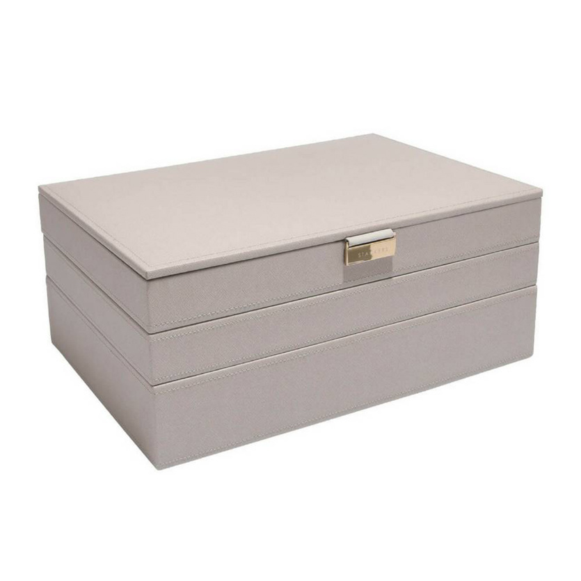 Sieradendoos Taupe Supersize set
