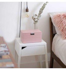Soft Pink & Grey Spot