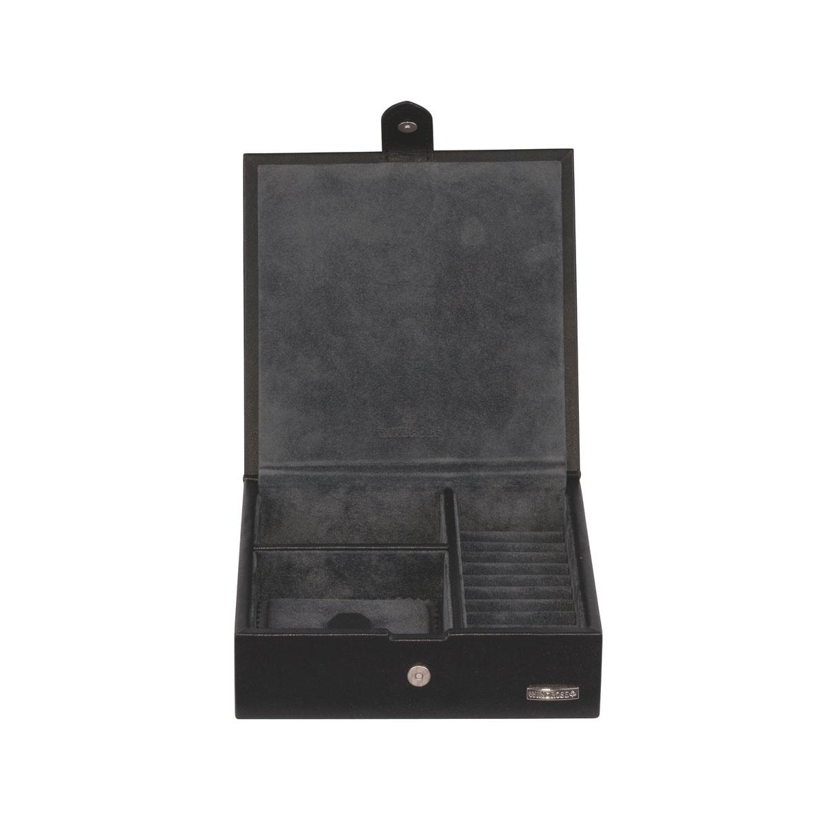 Boîte à Bijoux Pure Noire S