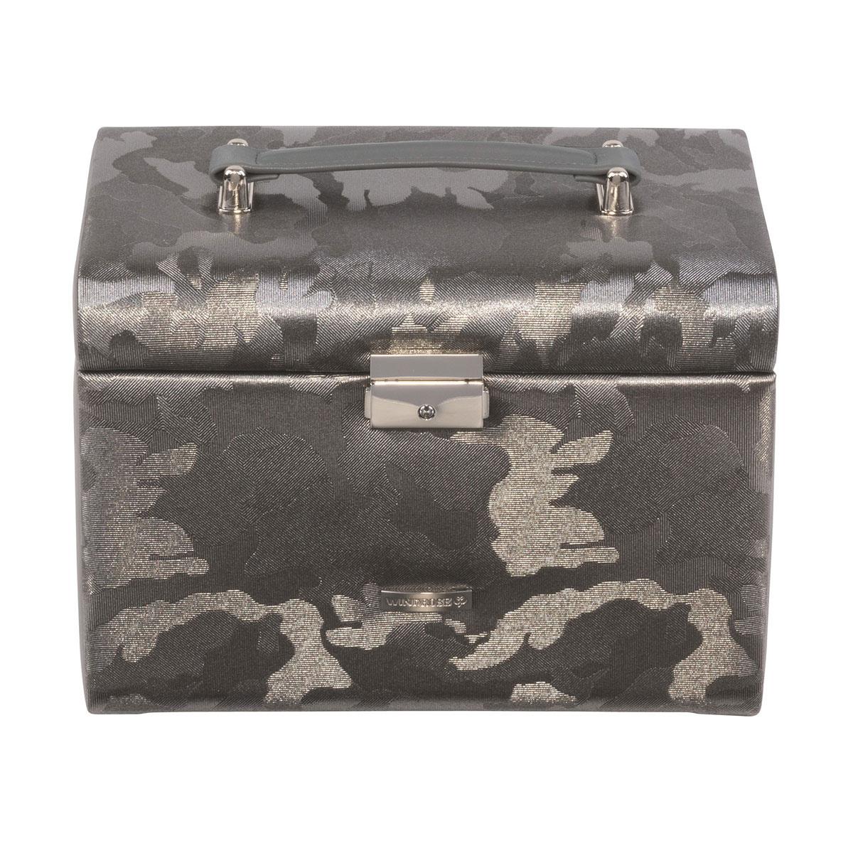 Boîte à bijoux Camouflage Gris Argent