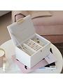 Coffret à bijoux Chalk White Croc Mini Set