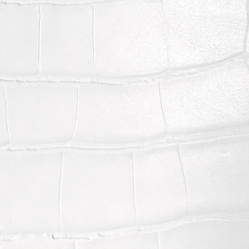 Schmuckschatulle Chalk White Croc Classic 3 Fächer
