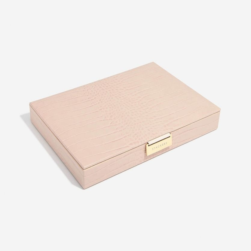 Sieradendoos Pink Croc Classic top