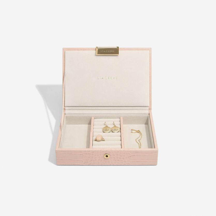 Sieradendoos Pink Croc Mini Set