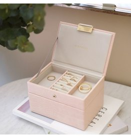 Stackers Coffret à bijoux Pink Croc Mini Set