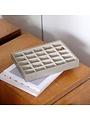 Schmuckschatulle Putty Croc Classic 25 Fächer