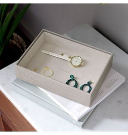 Stackers Coffret à bijoux Putty Croc Classic 1 compartiment