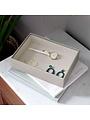 Coffret à bijoux Putty Croc Classic 1 compartiment