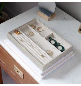 Stackers Boîte à bijoux Putty Croc Classic 4 compartiments