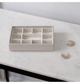Stackers Boîte à bijoux Putty Croc Mini 11 compartiments