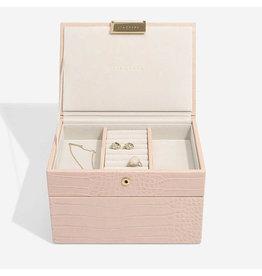 Stackers Schmuckschatulle Pink Croc Mini Set