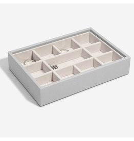 Stackers Boîte à bijoux Pebble Grey Mini 11 compartiments