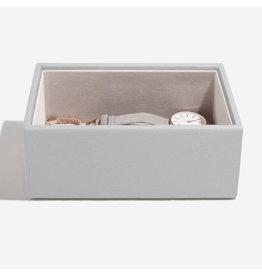 Stackers Boîte à bijoux Pebble Grey Mini 1 compartiment